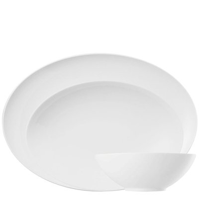 Thomas Loft White Serving Set