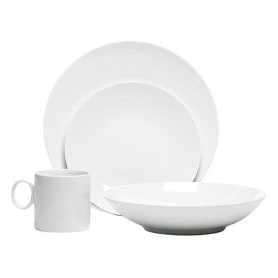 ROSENTHAL Thomas Loft Blanc 16 Piece Rond Ensemble Dinnerware