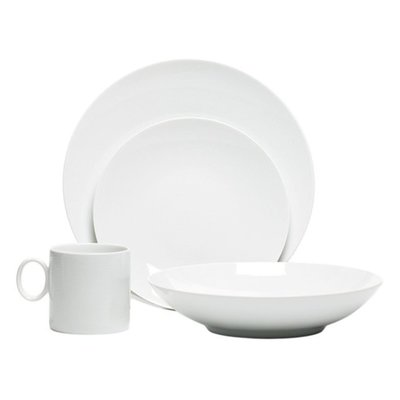 Thomas Loft White 16 Piece Round Set Dinnerware