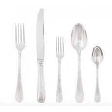 SAMBONET Ruban Croise 5 Piece Place Setting H.H. Flatware Stainless Steel
