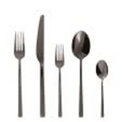 SAMBONET Linea Q 5 Piece Place Setting S.H. Flatware Stainless Steel