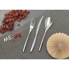 SAMBONET Bamboo Stainless Steel 5 Pcs Place Setting