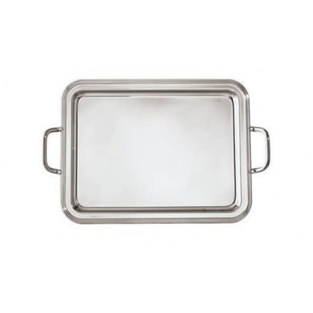 SAMBONET Avenue Rectangular Tray Stainless Steel Each 17 3/8 X 12 5/8""