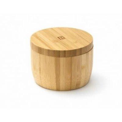 RICARDO Bamboo Wood Salt Cellar