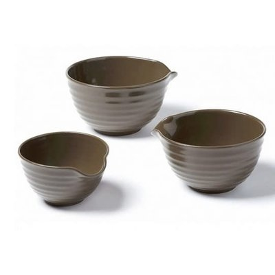 Set Of 3 Mixing Bowls 1.6 L - 2.4 L - 3.2 L