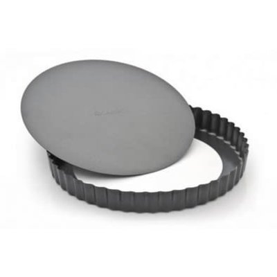 RICARDO Non-Stick Fluted Tart Pan With Removable Bottom 10.5'' - 27Cm