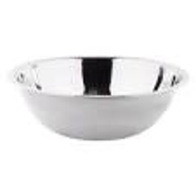 ADAMO IMPORT LIMITED Professional Mixing Bowls Heavy Stainless Steel 13 Qt - 38 Cm