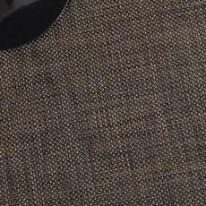 CHILEWICH Basketweave Table Mat Black 14 X 19