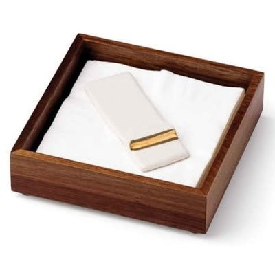 Mezza Napkin Holder With Flap