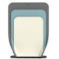 JOSEPH JOSEPH Self-Standing Chopping Boards Set Of 3 White - Blue - Grey