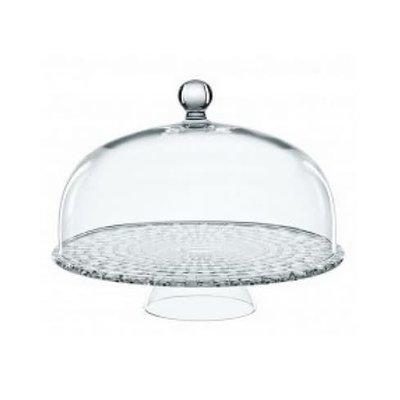 NACHTMANN Bossa Nova Tea Time Cake Plate With Dome