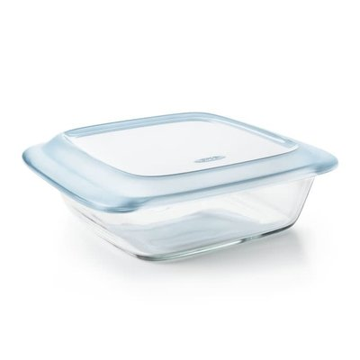 Glass Baking Dish With Lid 2 Qt