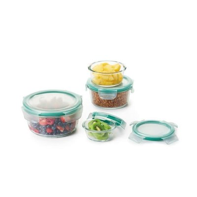 Snap Container Glass Set Of 8 Pieces