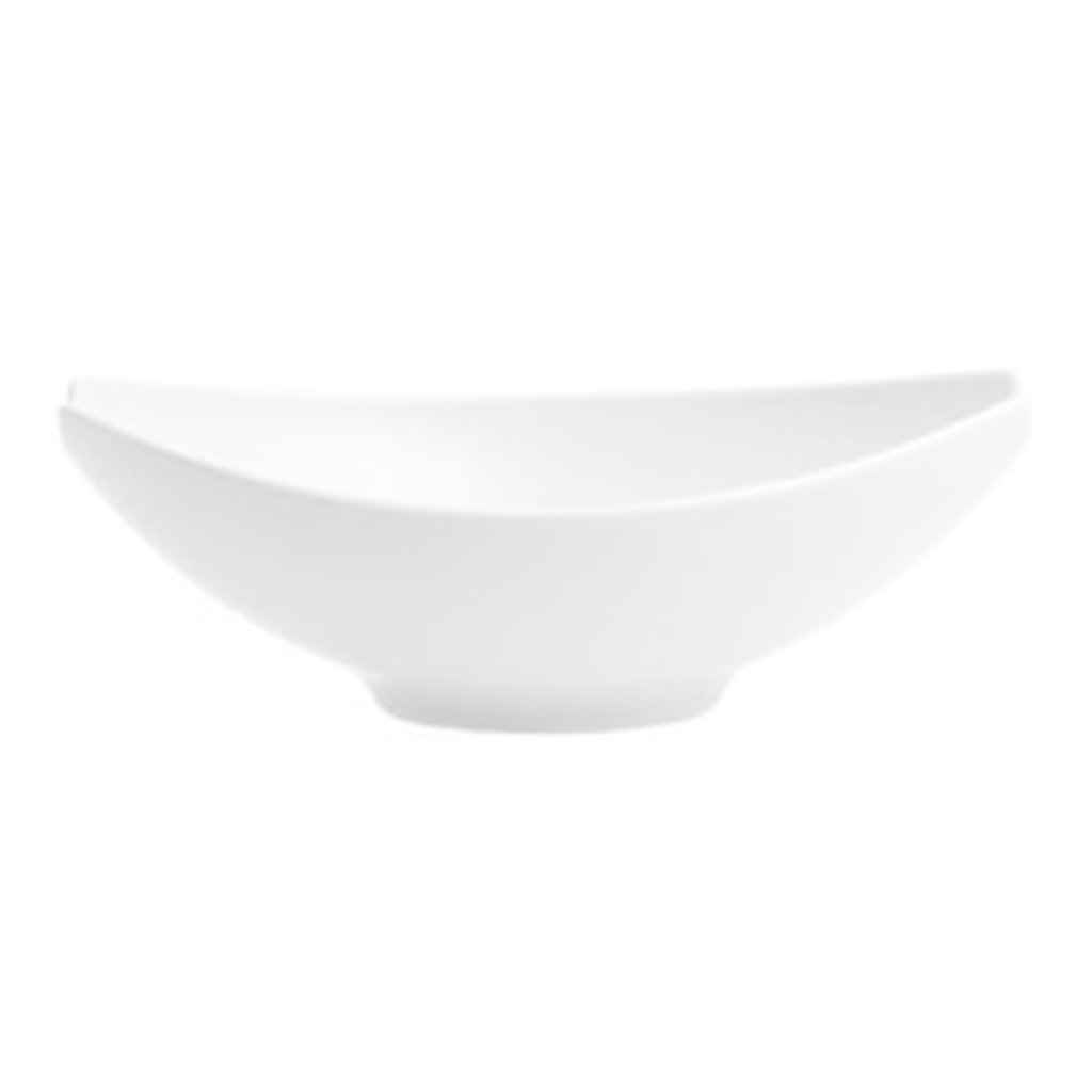 VISTA ALEGRE Medium Oval Salad Bowl Buffet White