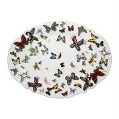 VISTA ALEGRE Butterfly Parade - Large Platter - Christian Lacroix