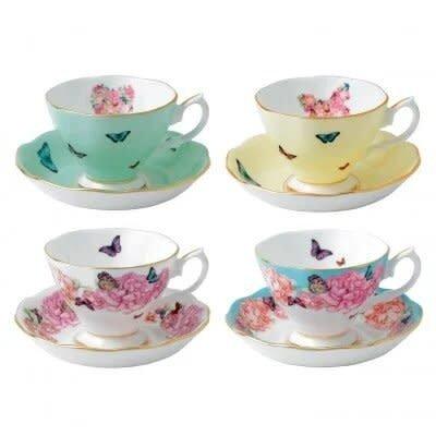 Miranda Kerr Teacups And Saucers (Set Of 4), Multicolor