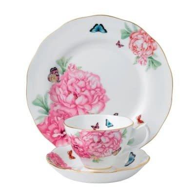 ROYAL ALBERT Friendship 3 Piece Set (Teacup - Saucer - Plate)