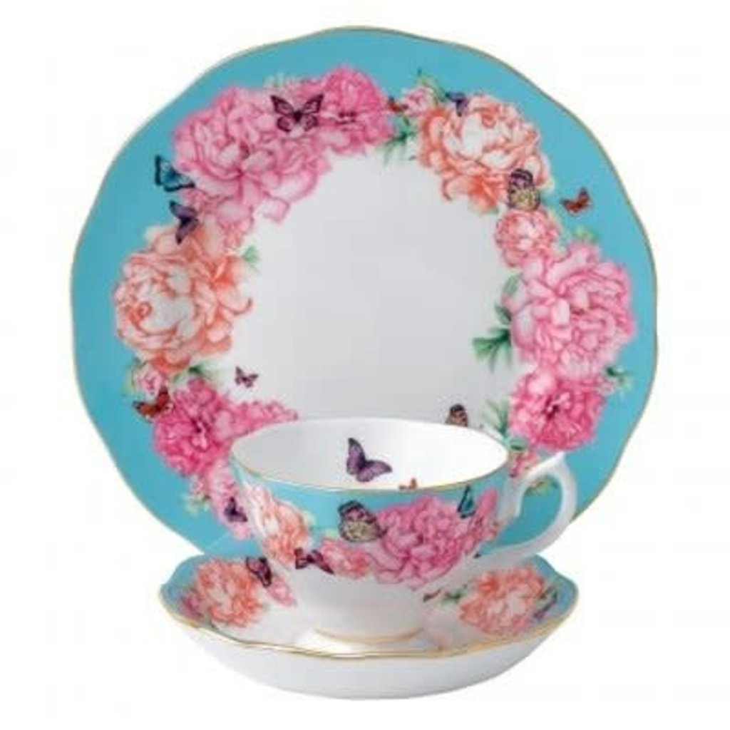 ROYAL ALBERT Miranda Kerr Devotion 3 Piece Set Teacup - Saucer - Plate