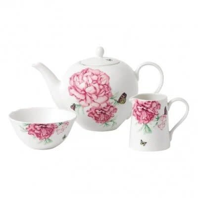 Miranda Kerr Everyday Friendship 3 Piece Set (Teapot, Sugar & Creamer) White