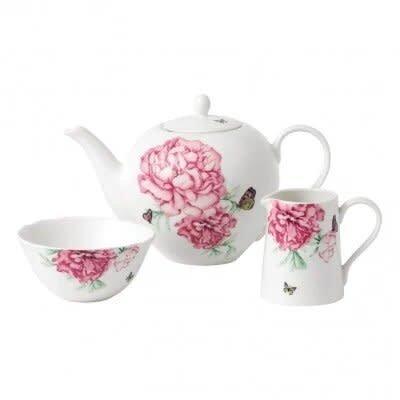 ROYAL ALBERT Miranda Kerr Everyday Friendship 3 Piece Set (Teapot, Sugar & Creamer) White