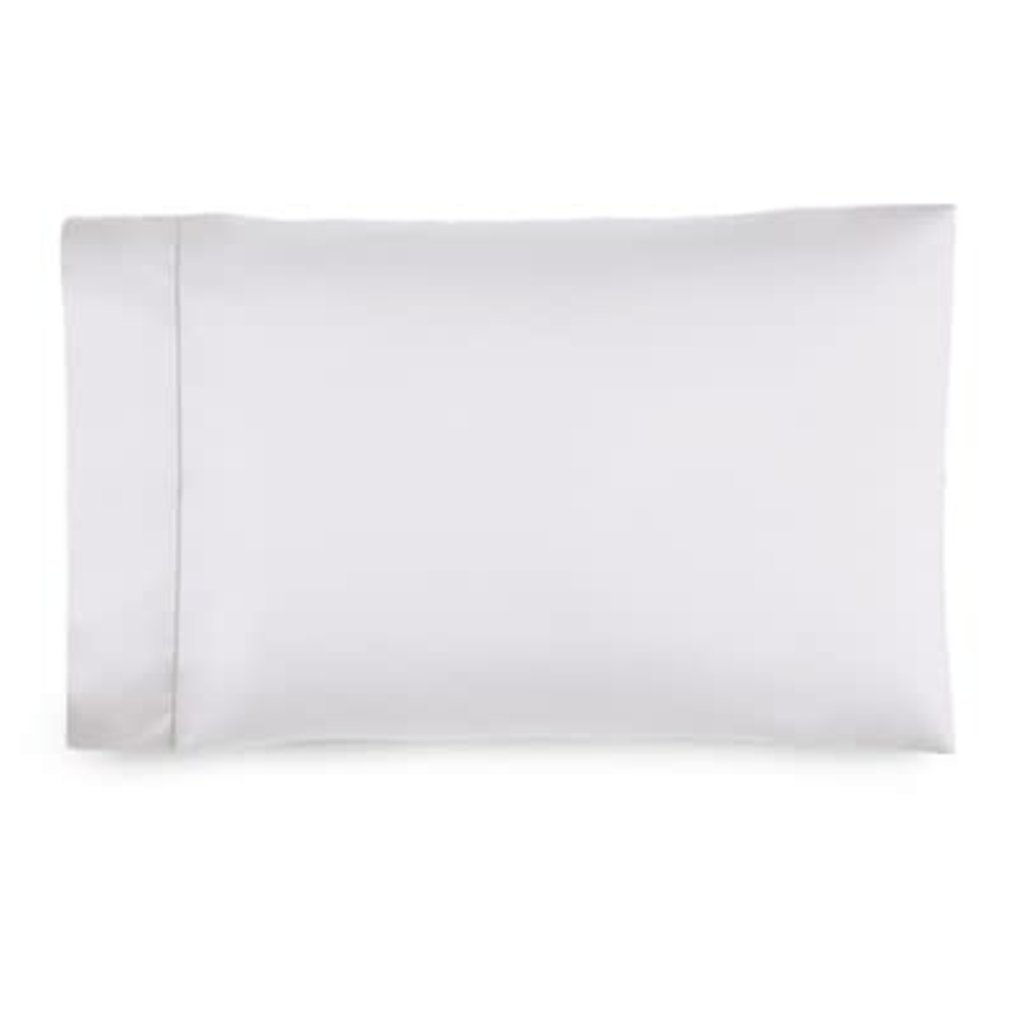 RALPH LAUREN 624 Deco White Sateen Pillowcase, King Size
