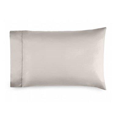 RALPH LAUREN 624 Sateen Pillowcases King Vintage Silver