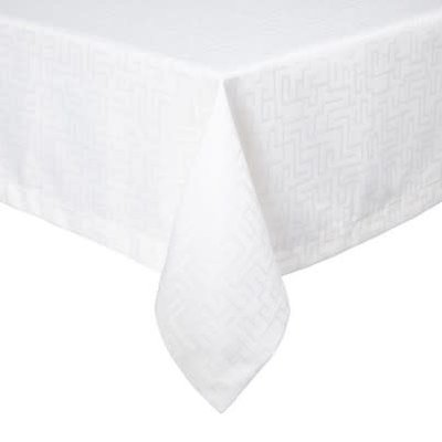 London Tablecloth Light Gray 66 X 144""
