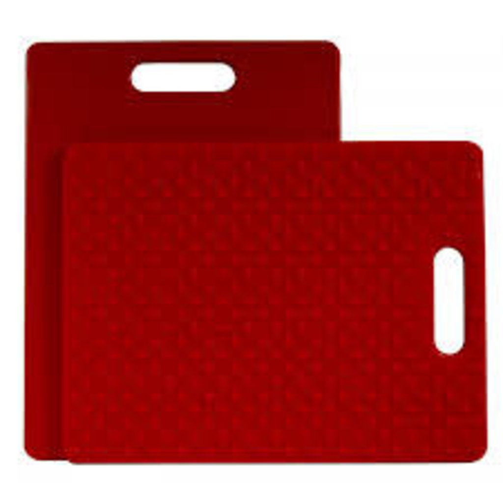 Gripper Cutting Board Red 11 X 14""
