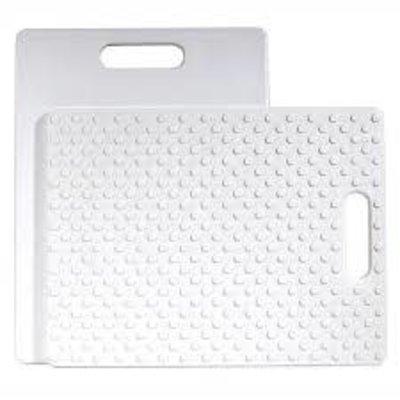 """Gripper Cutting Board White 11 X 14"""""""