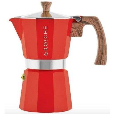 Milano Espresso Maker 9 Cups Red