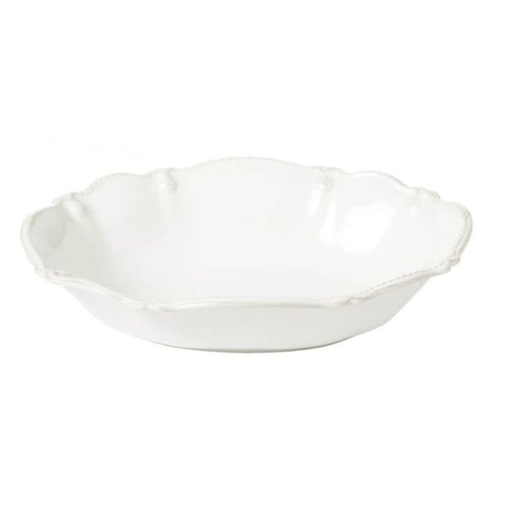 """Berry Thread Whitewash Oval Serving Bowl 10"""" -"""