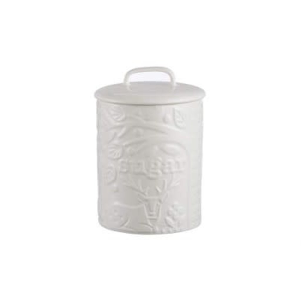 PORT-STYLE Mason Cash Forest Sugar Jar Cream Stag 16.5 X 11.5 Cm - 750 Ml