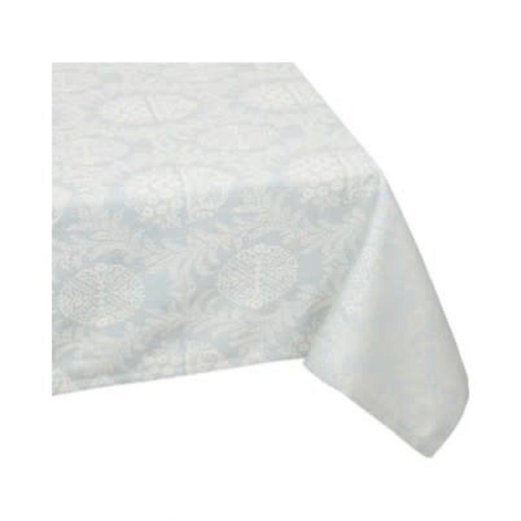 Victoria Tablecloth Blue 60 X 120''