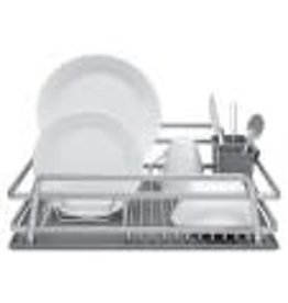Ta Da Single Level Dish Rack With Drysmart Silicone Mat 21 X 14.75""