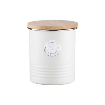 PORT-STYLE PORT-STYLE Typhoon Living Tea Canister 1L Cream
