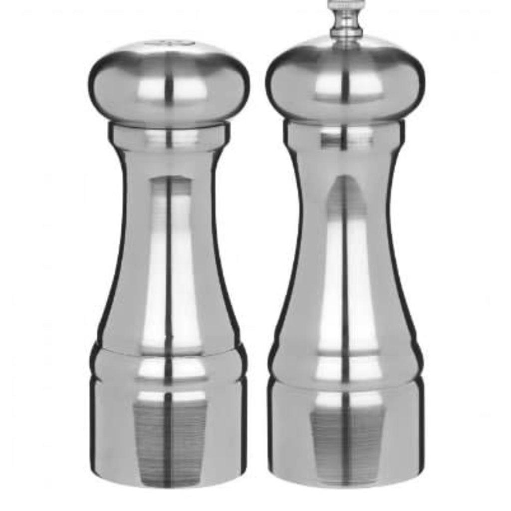 TRUDEAU Brio Salt & Pepper Shaker Chrome