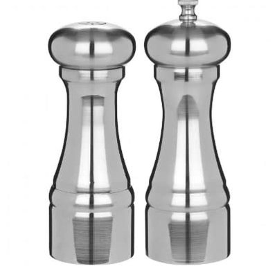 TRUDEAU Brio Salt & Pepper Shaker Chrome
