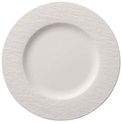 VILLEROY & BOCH Manufacture Rock Blanc Assiette De Dîner Chaque 10.5''