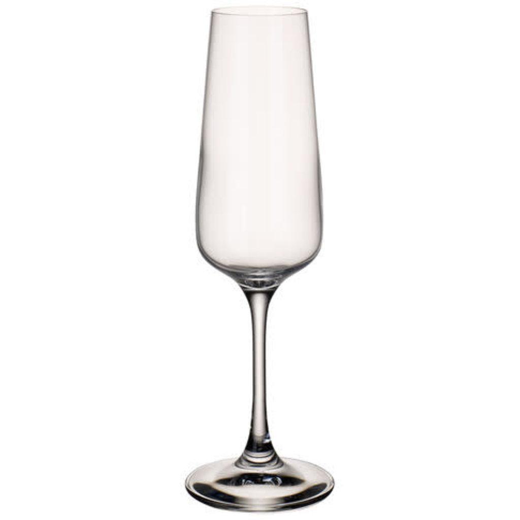 VILLEROY & BOCH Ovid Flûte À Champagne 9'' Ensemble de 4 - 8.5 Oz