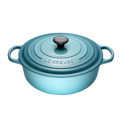 LE CREUSET Signature 6.2 L Shallow Round French Oven Caribbean