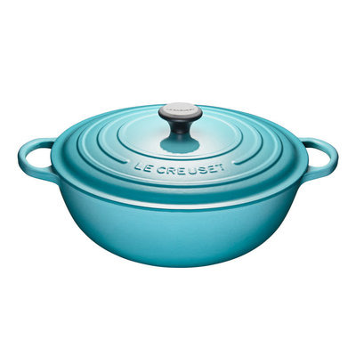 LE CREUSET Signature 7 L Chefs French Oven Caribbean
