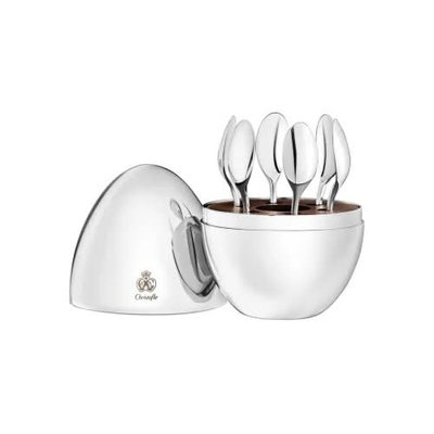 CHRISTOFLE Set 6 Espr. Spoons Mood Coffee
