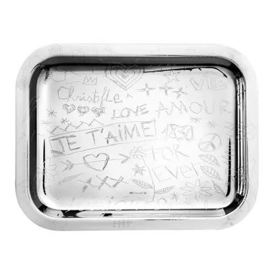 CHRISTOFLE Tray 26X20 Graffiti