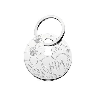 CHRISTOFLE Him Key Chains Graffiti
