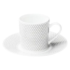 CHRISTOFLE Demitasse Cup/Saucer Madison 6