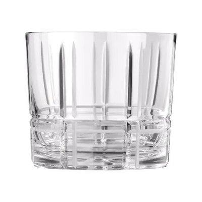 CHRISTOFLE Scottish Gobelet Double Old-Fashioned En Cristal Chaque 3 1/2'' - 8 1/10 Oz