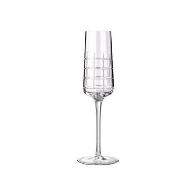 CHRISTOFLE Graphik Flûte À Champagne En Cristal Chaque 8'' - 10 Oz