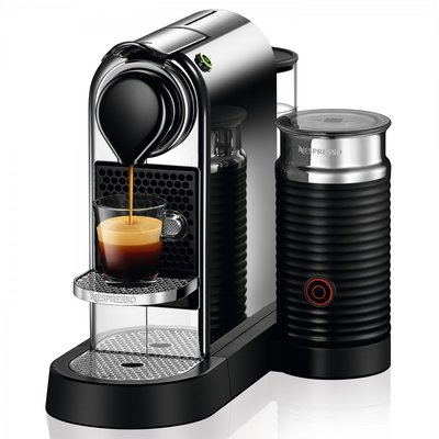 Citiz & Milk Espresso Machine Chrome