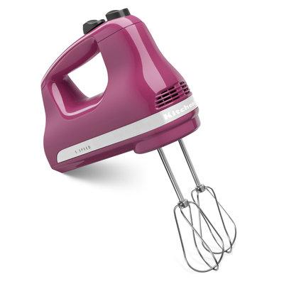KITCHENAID Boysenberry 5-Speed Ultra Power Hand Mixer