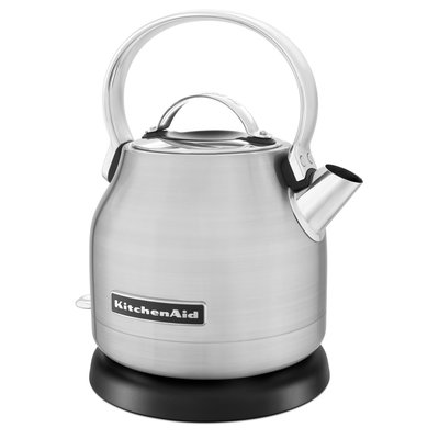 KITCHENAID Small Space Electric Kettle 5 Cups Stainless Steel 1.25 L